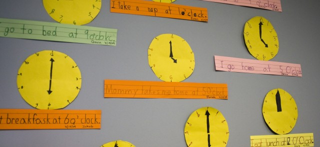 Wall of clocks | time to build a WordPress site