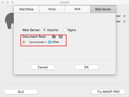 Installing MAMP for Mac - devtuts.butlerccwebdev.net