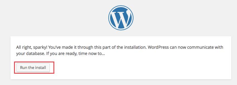 how to run wordpress locally