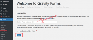 how to add a contact form with gravity forms