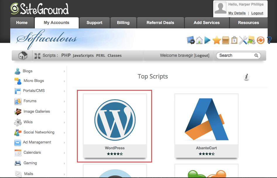 How to Install WordPress SiteGround yasaklar olmadan