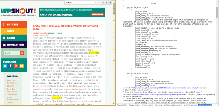 print_r wp_query example