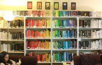 Rainbow of Books.