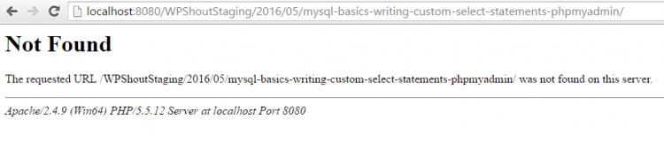 server error wordpress permalinks