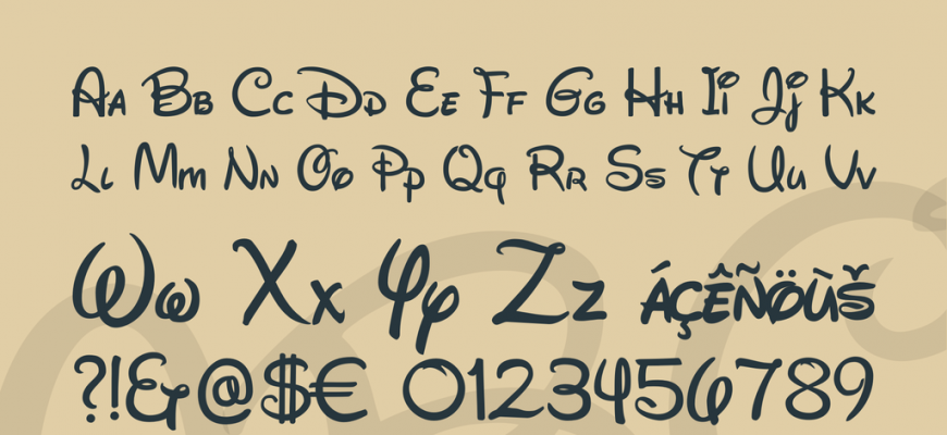 disney font   easy google fonts