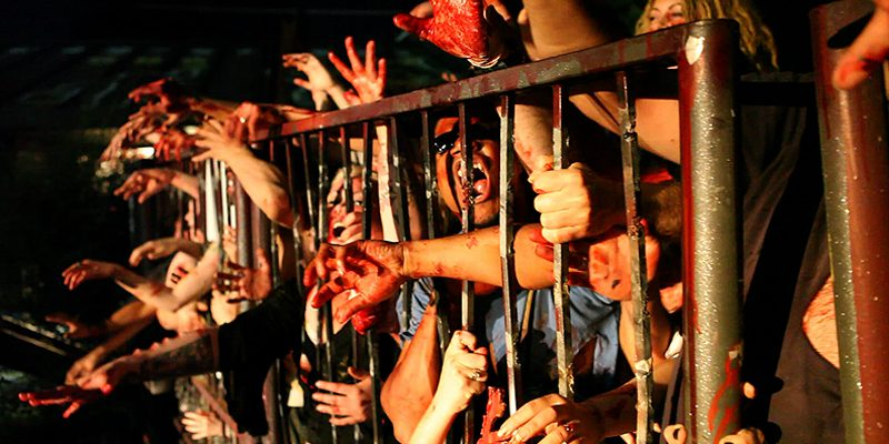 zombies at gate