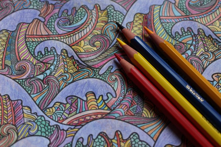 Crayons - like a coloring book, working with Squarespace is relaxing