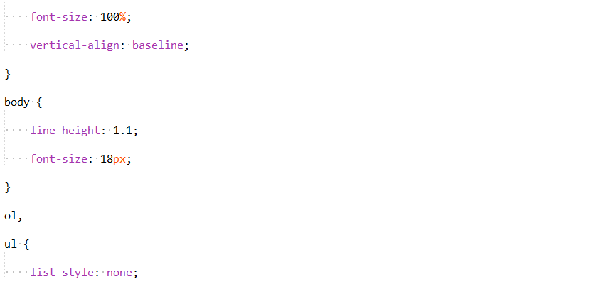 extra lines in css and php file
