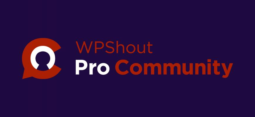 wpshout pro community