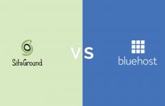 siteground vs bluehost comparison 2019