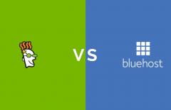 godaddy vs bluehost hosting comparison