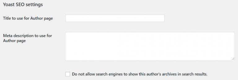 wordpress custom user meta example yoast