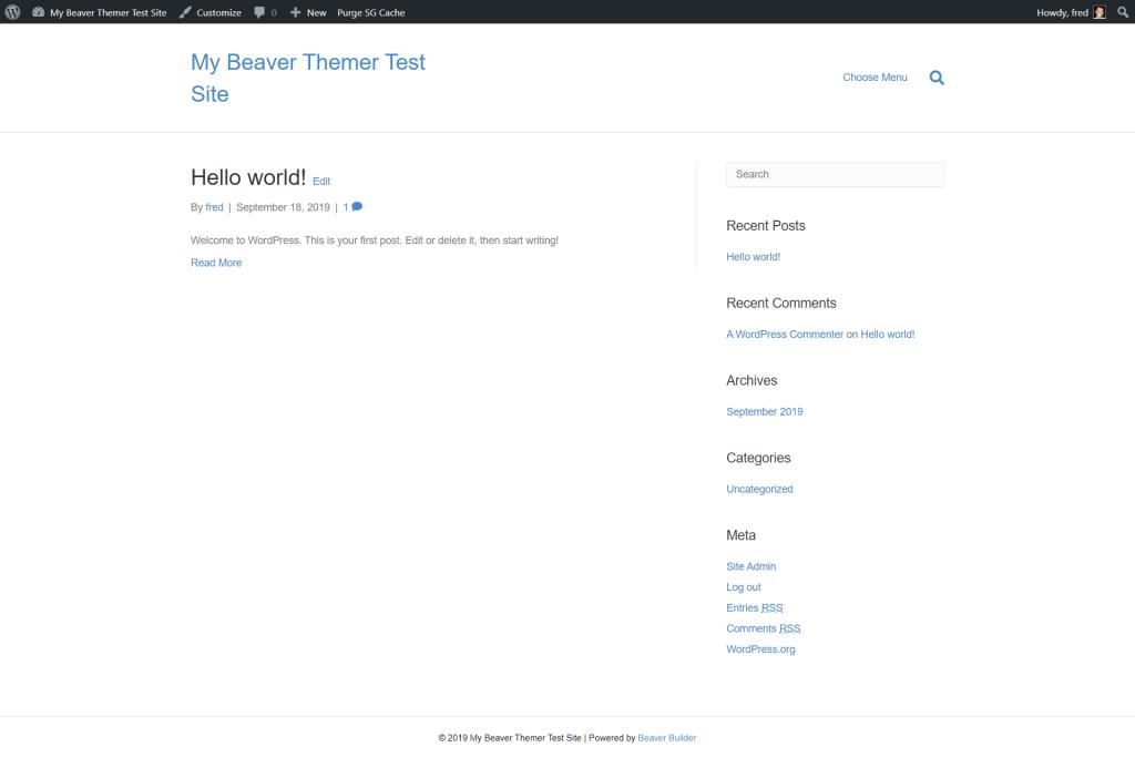 beaver builder theme demo