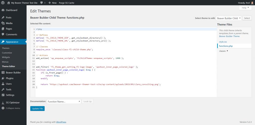 beaver builder theme review code demo