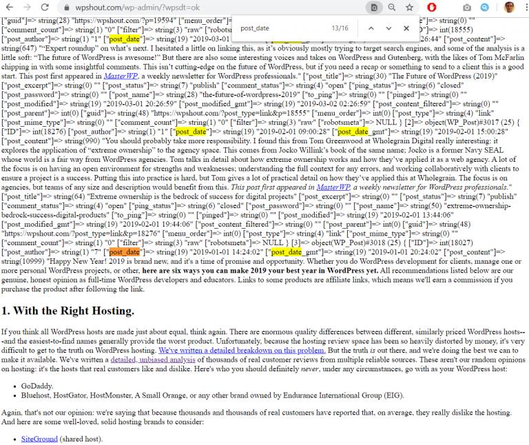 wordpress plugin development tutorial debugging