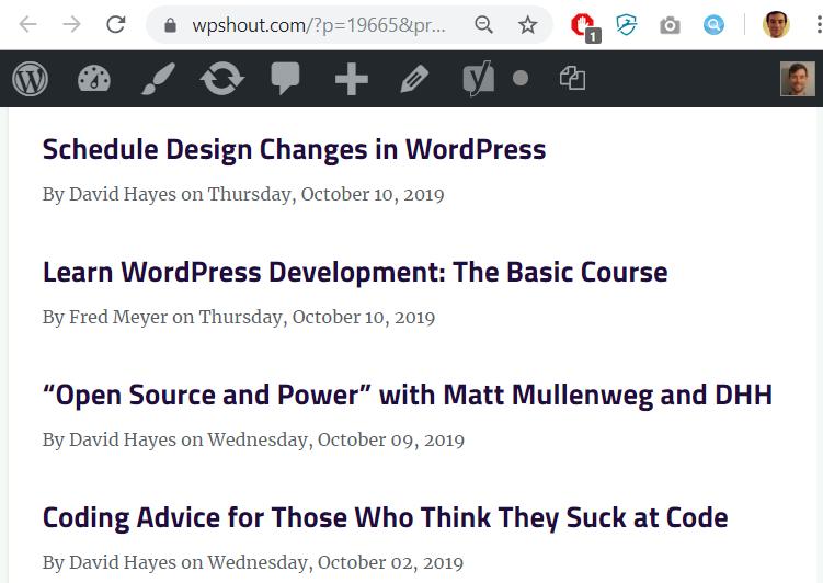 wordpress plugin tutorial user interface design