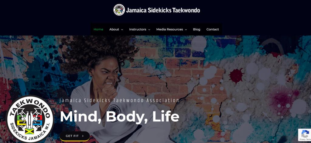 Jamaica Sidekicks Taekwondo
