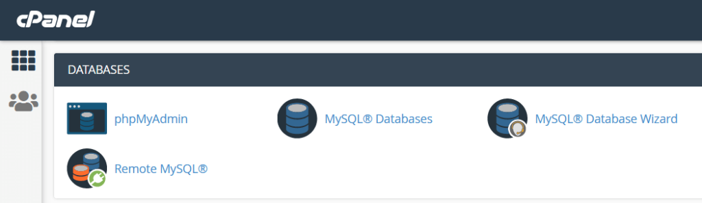 cPanel Databases.png