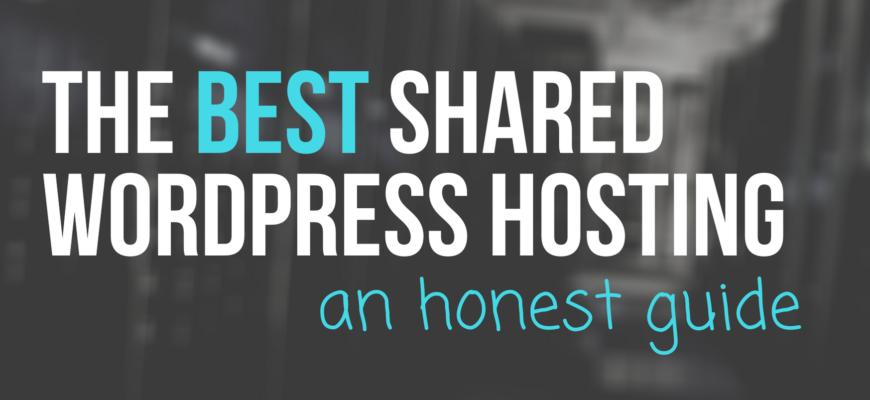 best shared wordpress hosting