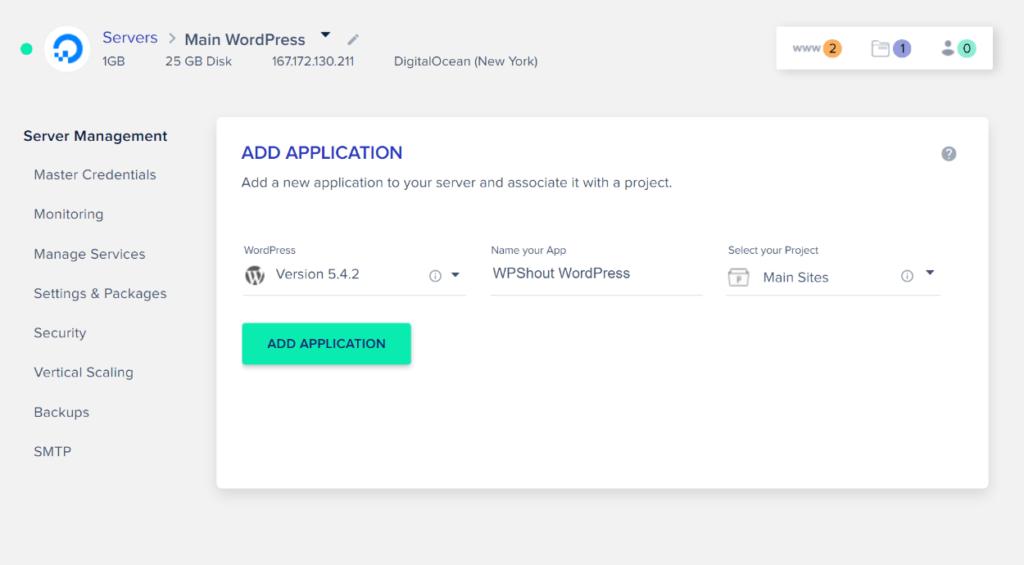 Cloudways WordPress installer